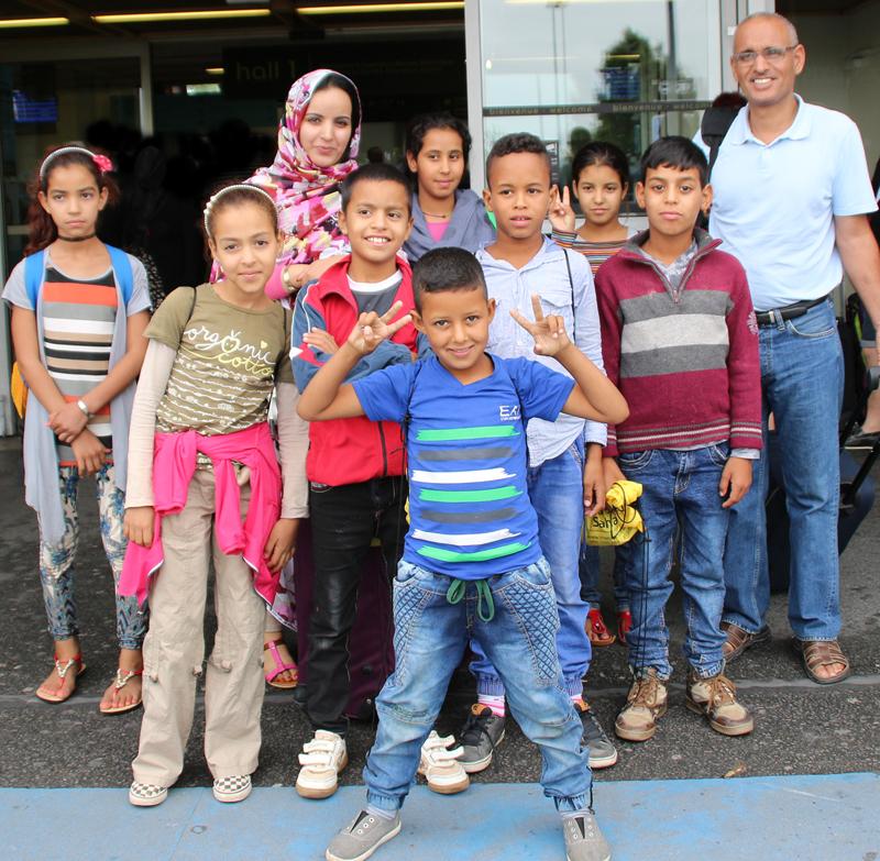 Départ à Lanester pour les enfants Sahraouis !
