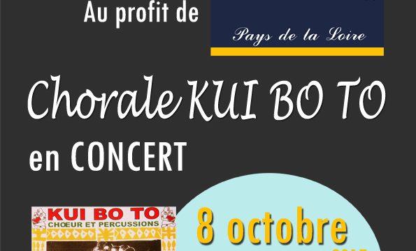 Concert KUI BO TO dimanche 8 octobre