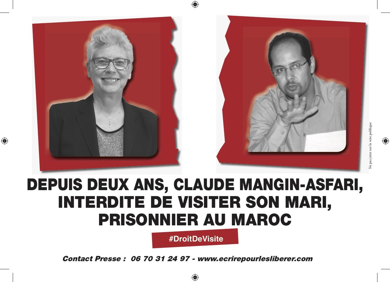 soutien à Claude Mangin-Asfari