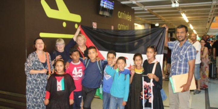 Accueil des enfants sahraouis à Rezé, encore beaucoup de moments inoubliables !