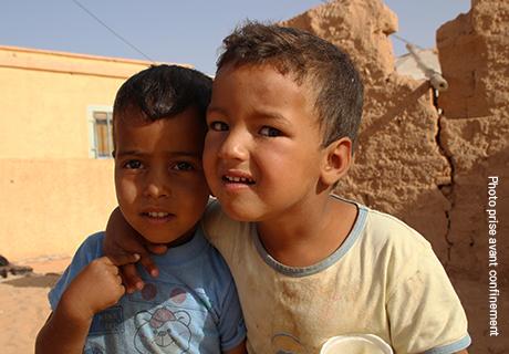 [COVID19] Les enfants sahraouis confinés dans les campements