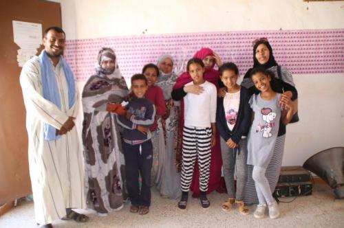 groupe avec Mohamed Alien